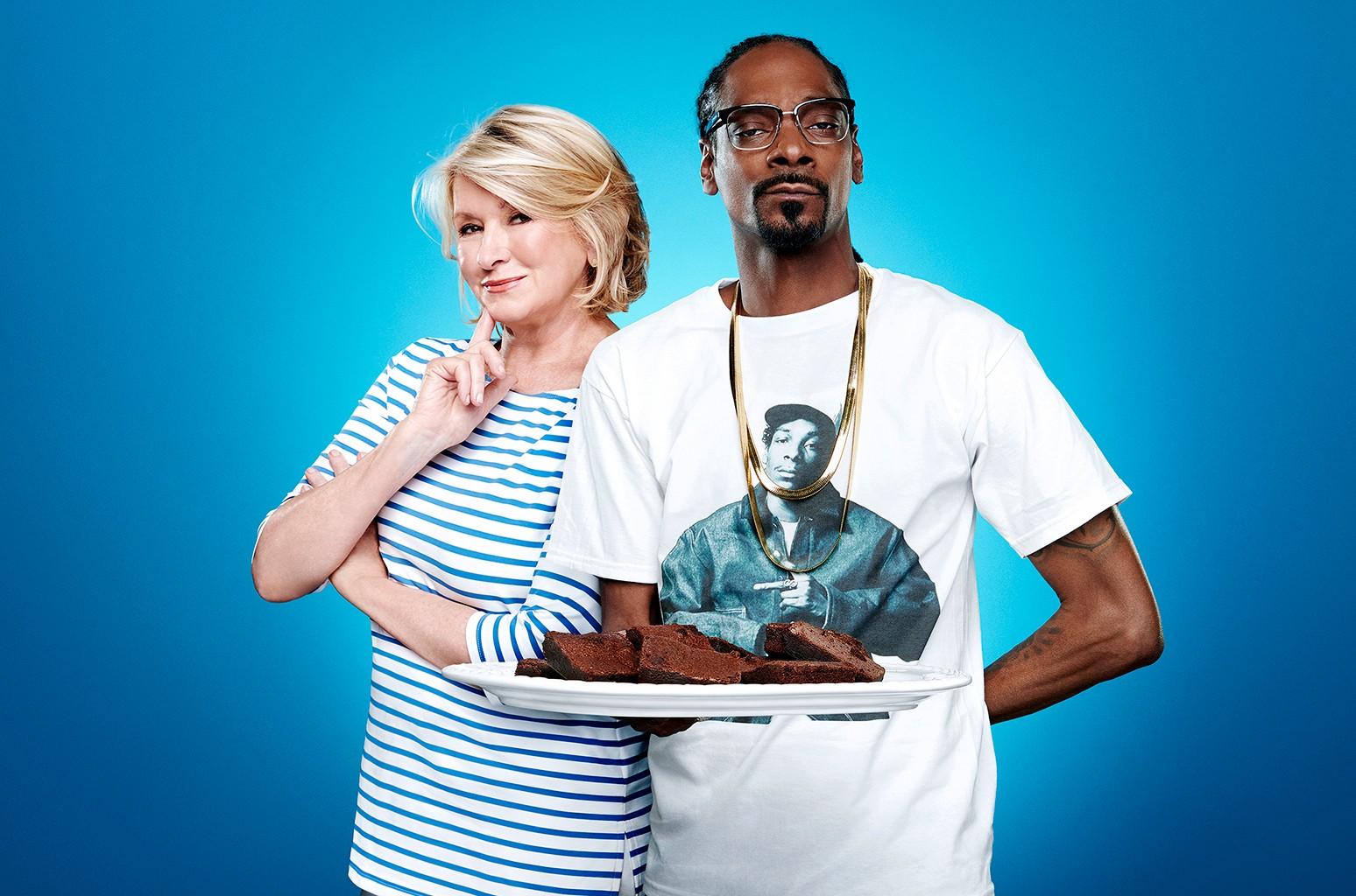 Martha Stewart & Snoop Dogg