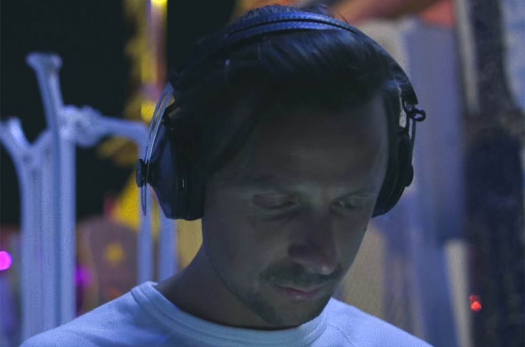 Martin Solveig in the video for  Places ft. Ina Wroldsen