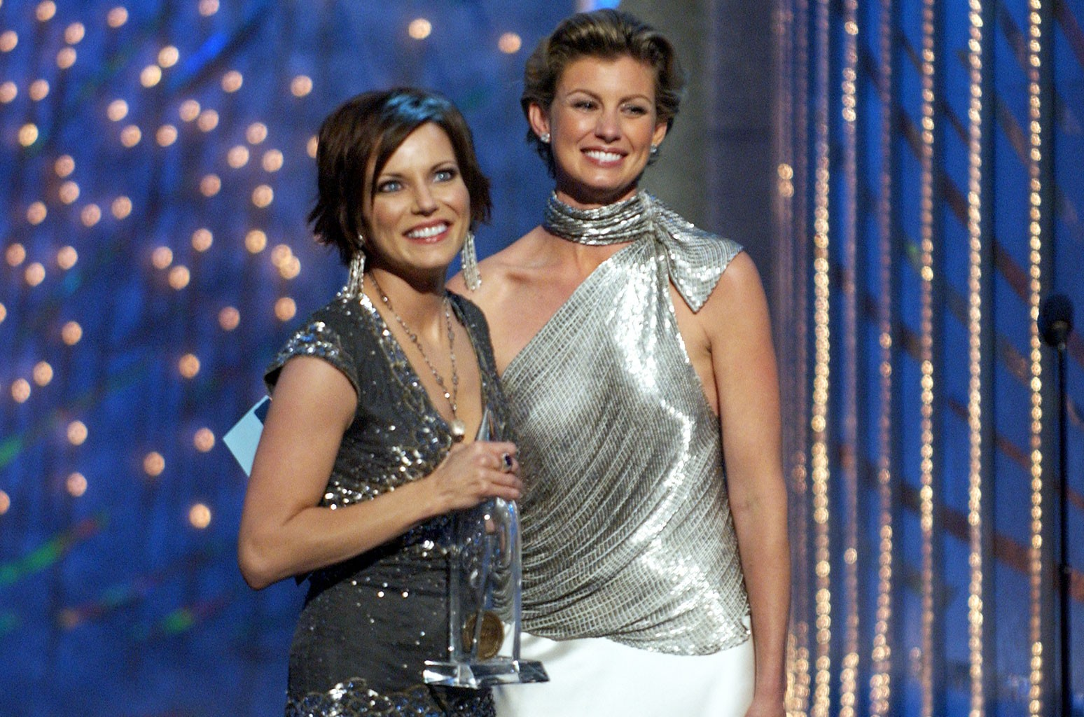 Martina McBride and Faith Hill