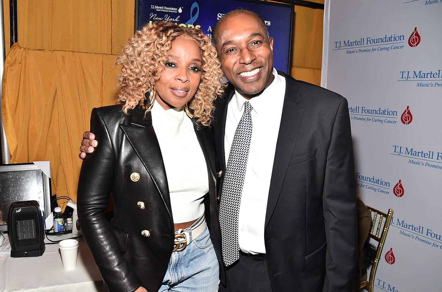 Mary J. Blige and Honoree Jeffrey Harleston