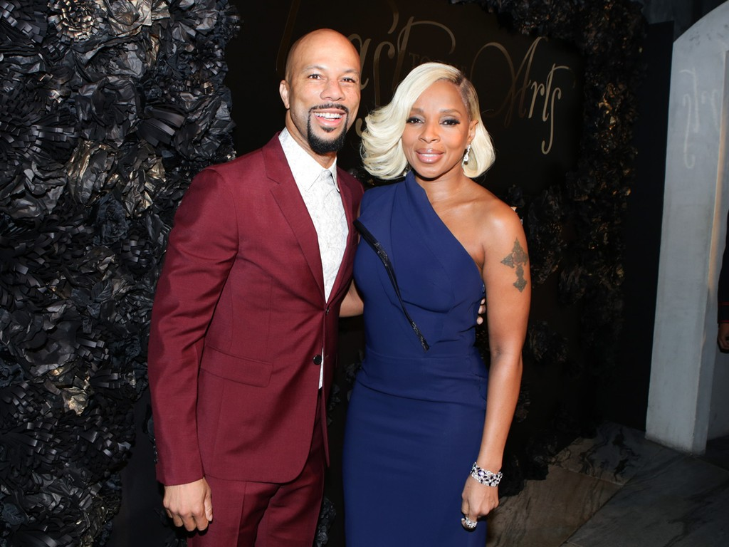 Common and Mary J. Blige