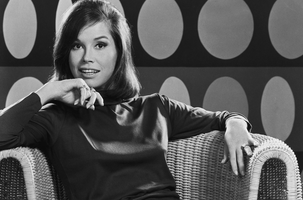 Mary Tyler Moore photographed in 1969.
