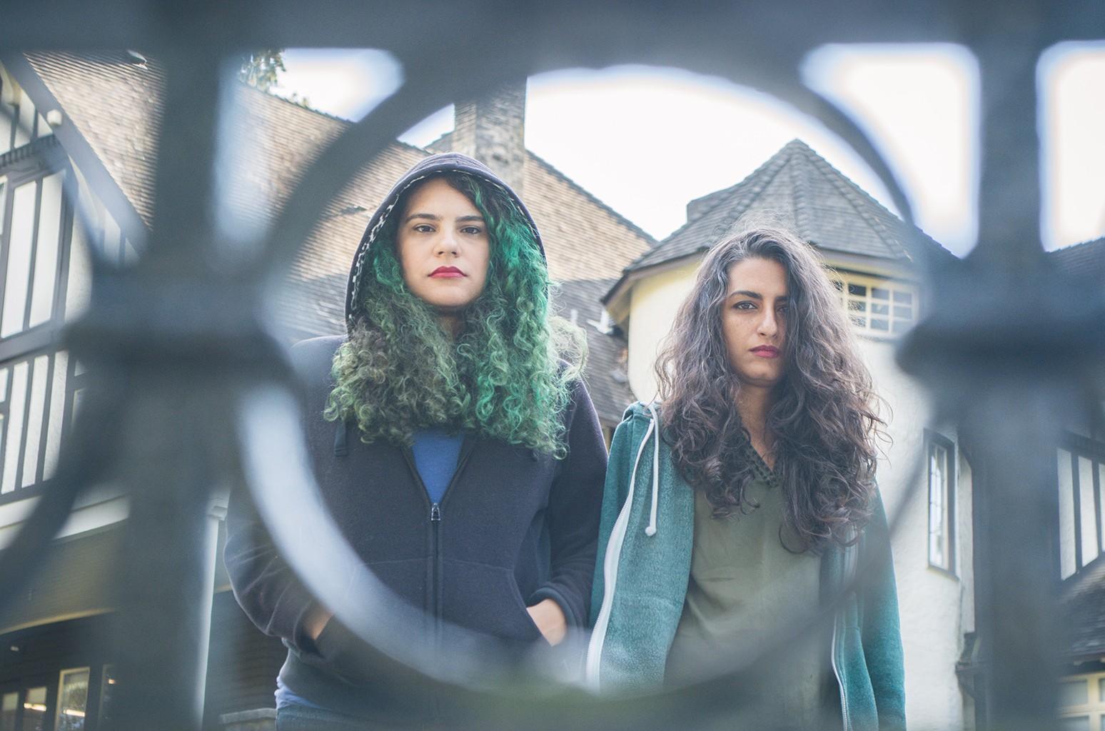 Cherine Amr and Nancy Mounir of Massive Scar Era
