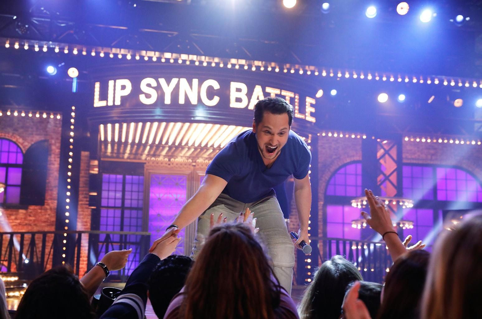 Matt McGorry performs on Lip Synch Battle