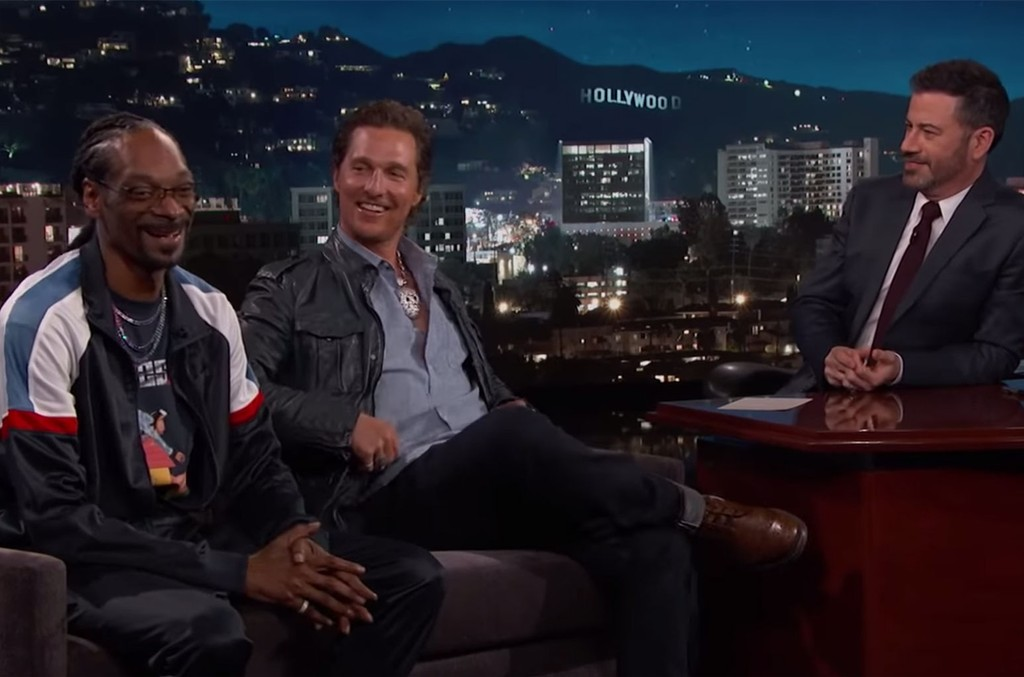 Matthew McConaughey & Snoop Dogg on Jimmy Kimmel Live!