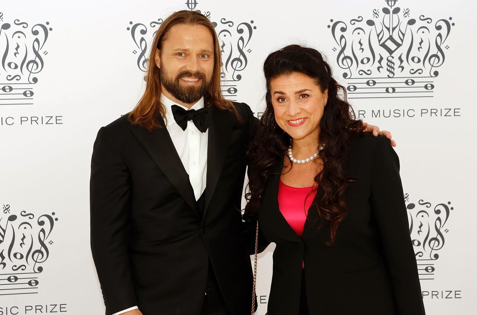 Max Martin and Cecilia Bartoli, the 2016 Polar Music Prize 2016 winners