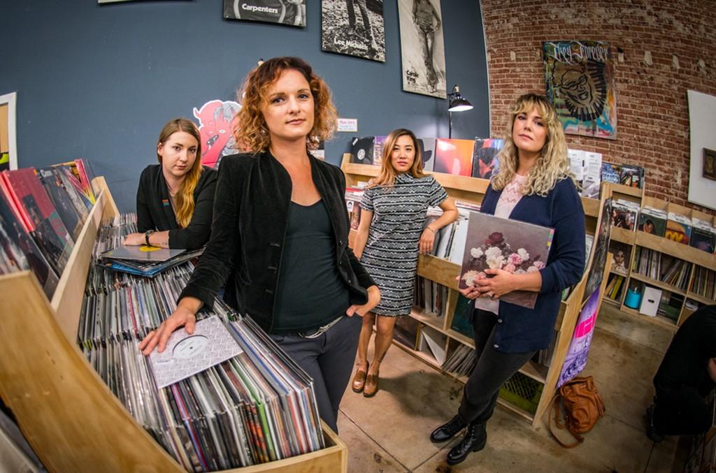 From left to right: Meagan Blome, Abbie Fischel, Khanh Hoang, Lauren Coleman