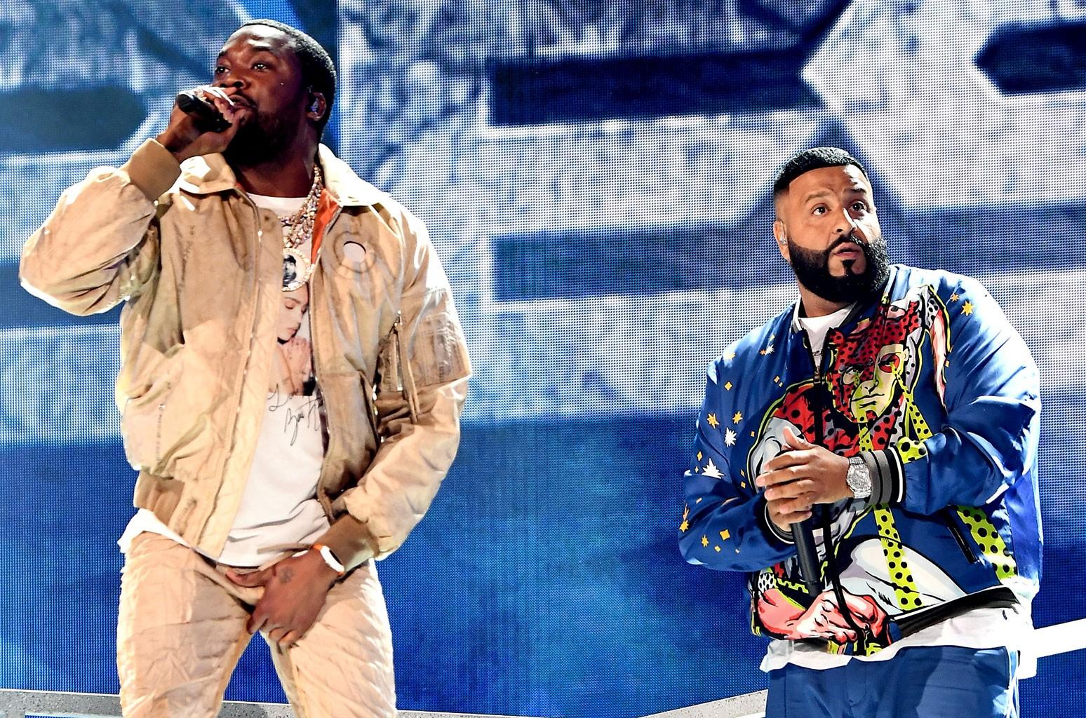 Meek Mill and DJ Khaled