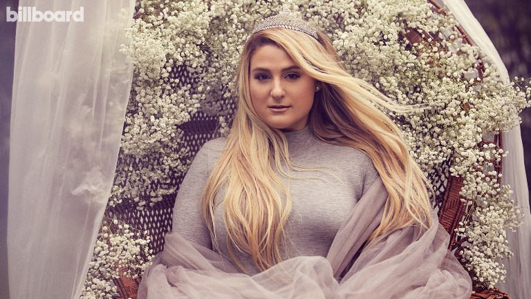 <p>Meghan Trainor photographed on Dec. 10, 2019 at The Garland in Los Angeles. Styling by Hayley Atkin. JLUXLABEL bodysuit, NyLaurent tulle capelet, ShoeDazzle boots, Keren Wolf crown.</p>