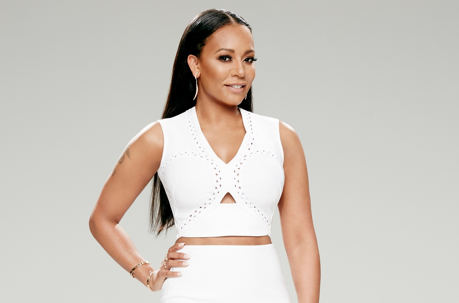 Mel B photographed for America's Got Talent in 2016.