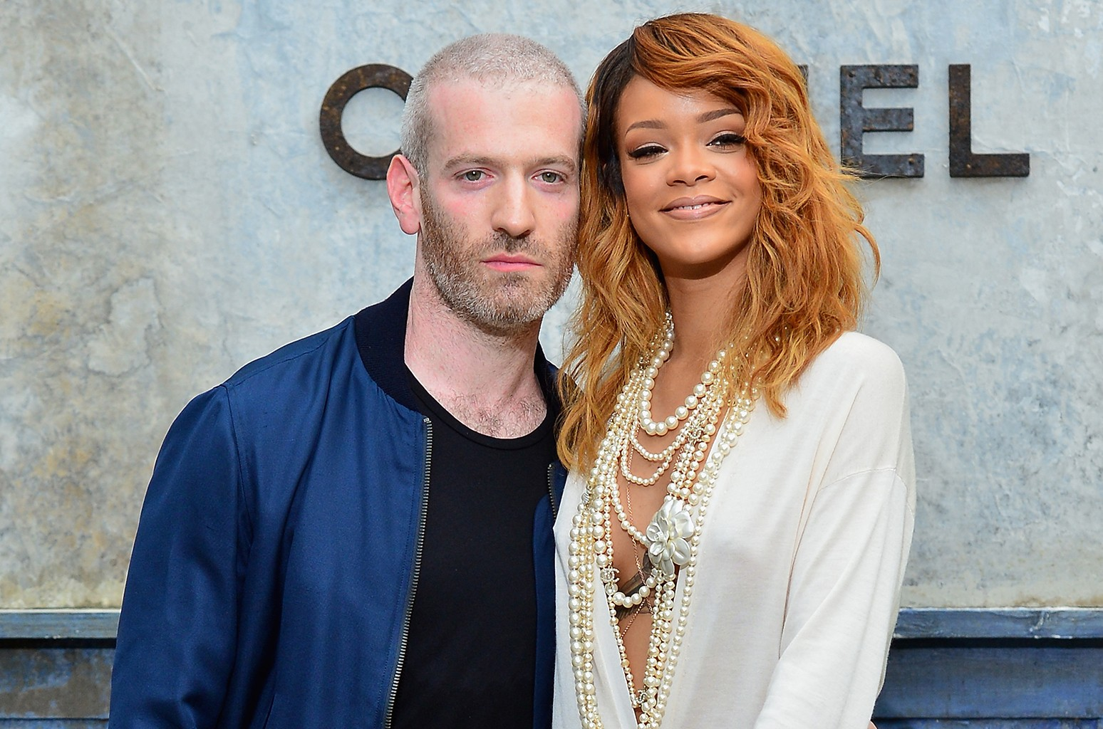 Mel Ottenberg and Rihanna