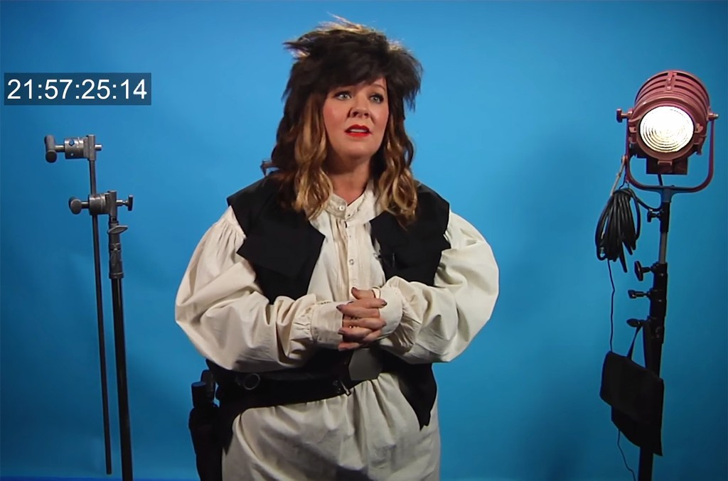 Melissa McCarthy auditions for Young Han Solo Role in New 'Conan' Clip.