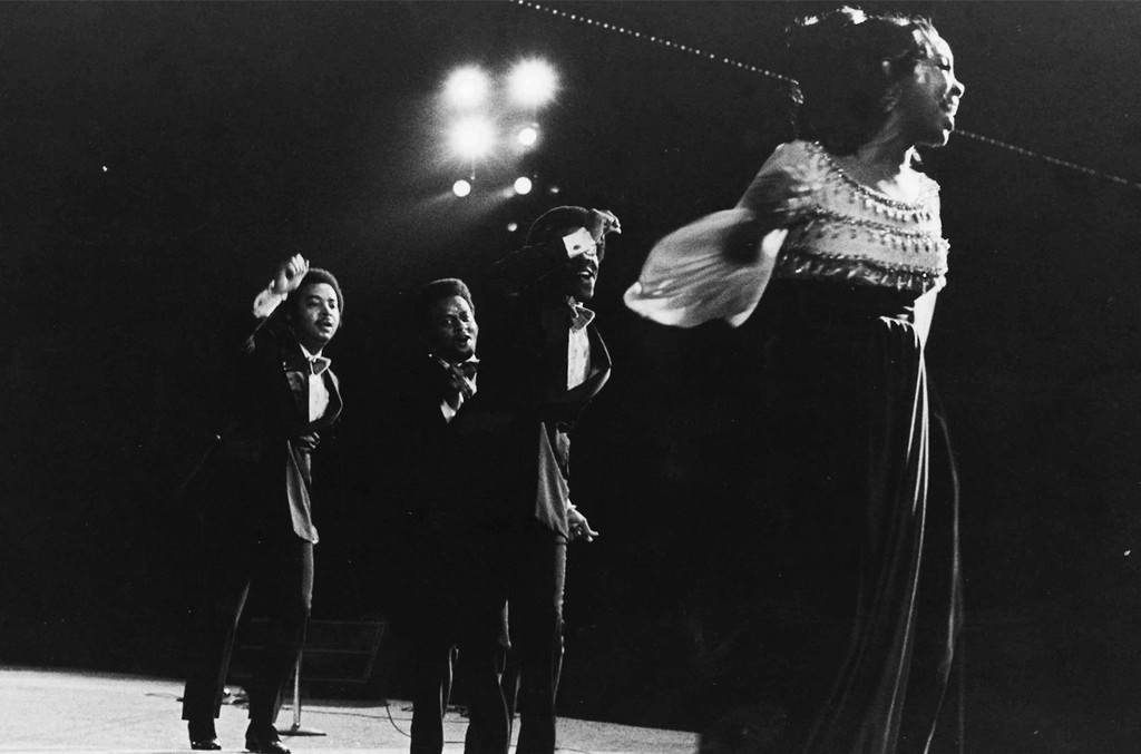 Gladys Knight & the Pips at the Merriweather Post Pavilion in 1970