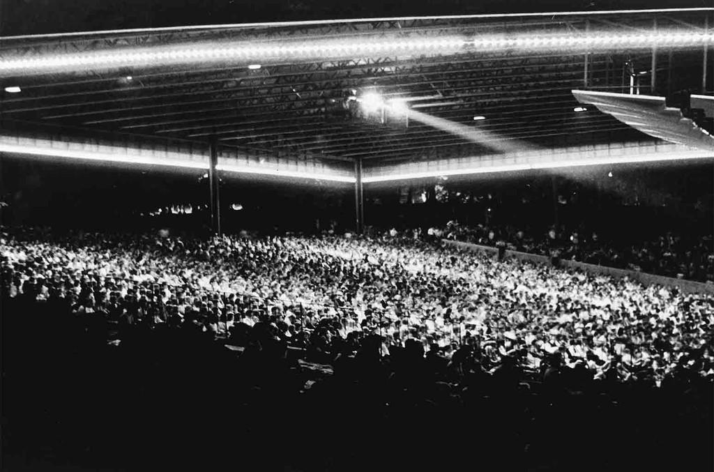 Blood, Sweat & Tears at the Merriweather Post Pavilion on June 27, 1969.
