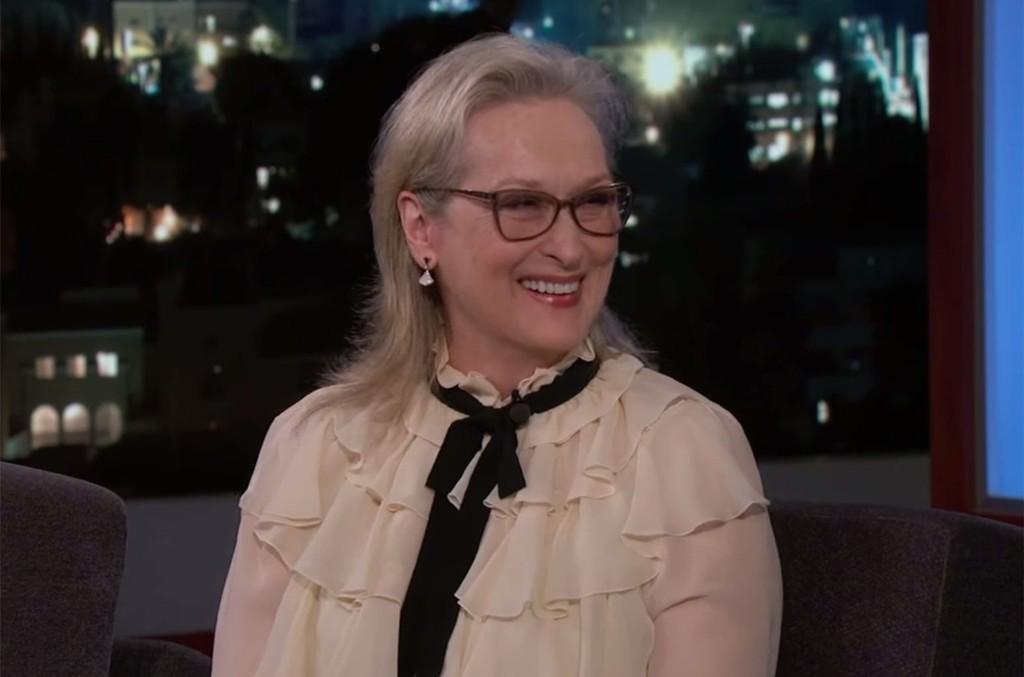 Meryl Streep on Jimmy Kimmel Live!