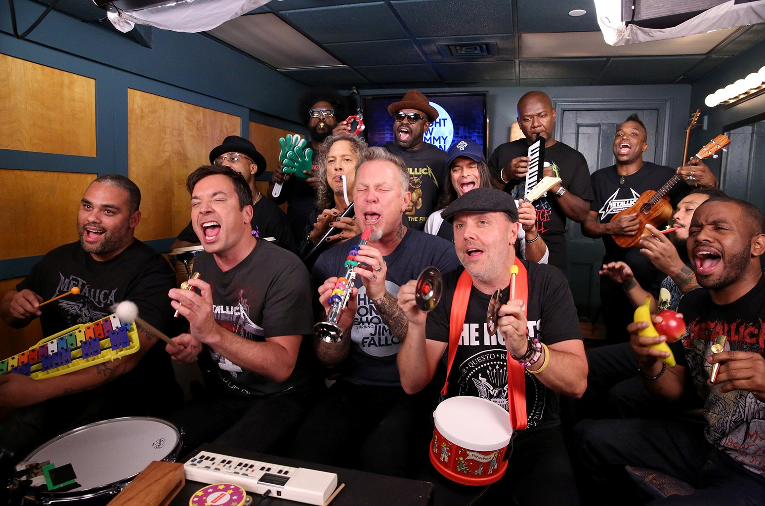 The Tonight Show Starring Jimmy Fallon, Metallica