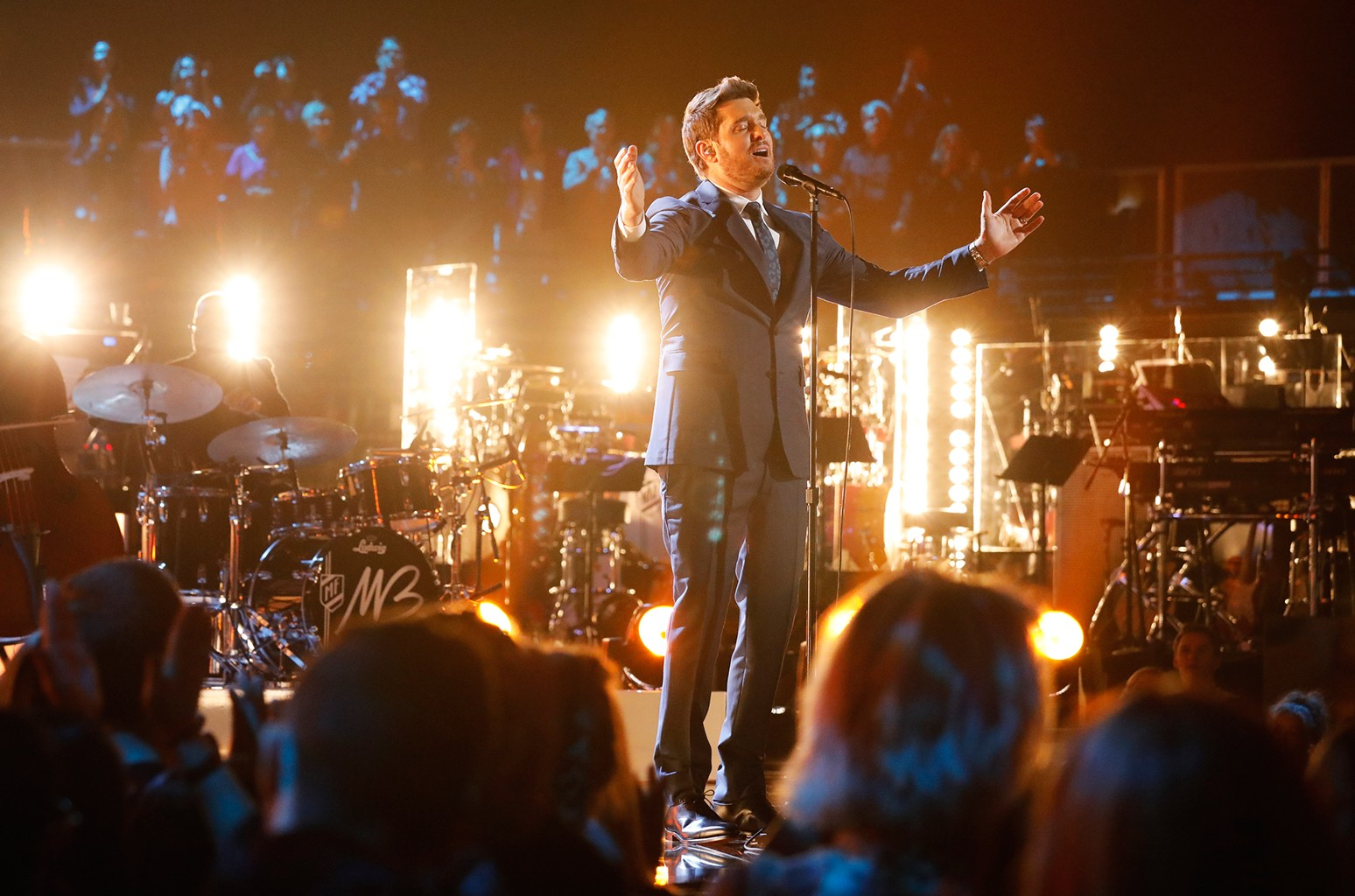 Michael Buble on The Voice.