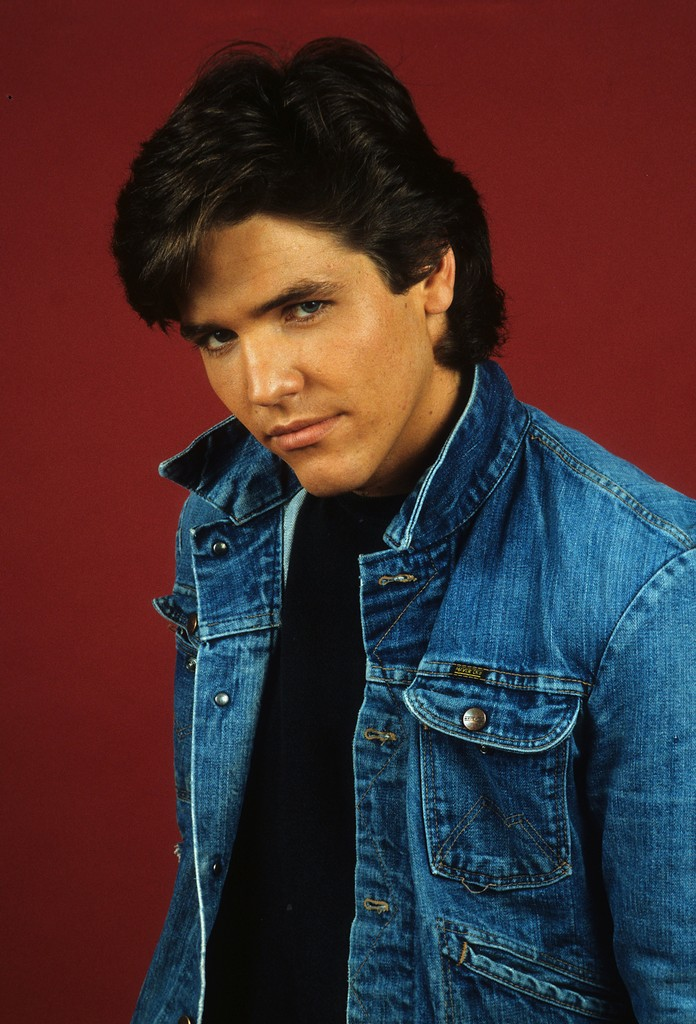Young And The Restless Actor Michael Damian poses for a portrait in 1992 in Los Angeles.