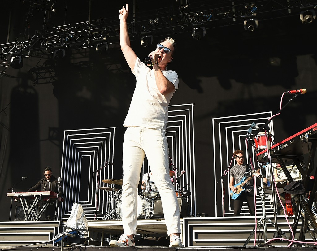 Michael Fitzpatrick of Fitz and the Tantrums