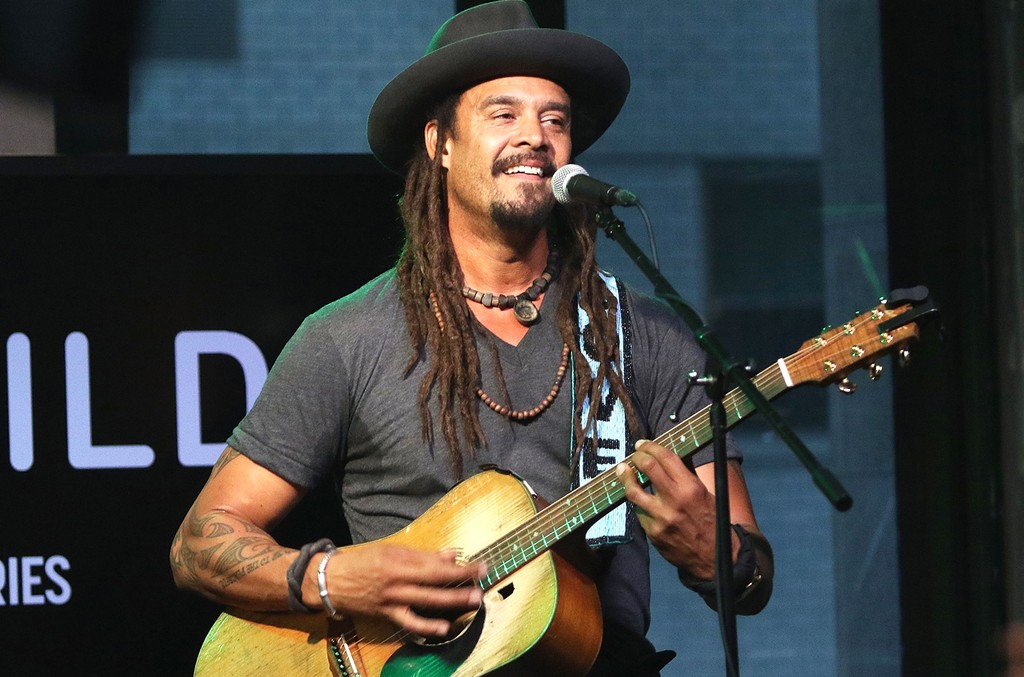 Michael Franti peforms on AOL Build Speaker Series at AOL Studios in New York on June 7, 2016 in New York City.