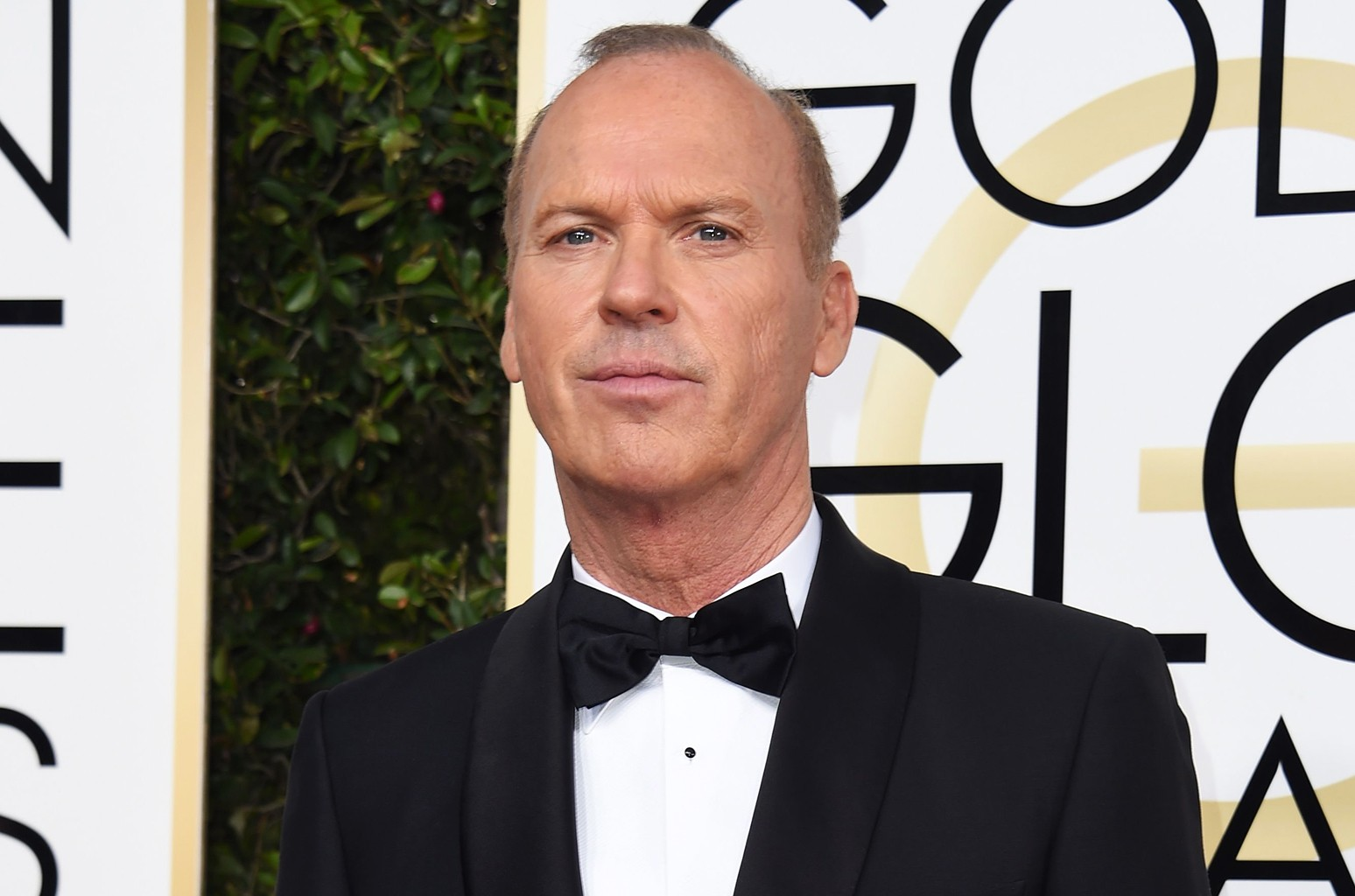 Michael Keaton arrives at the 74th annual Golden Globe Awards on Jan. 8, 2017, at the Beverly Hilton Hotel in Beverly Hills, Calif.