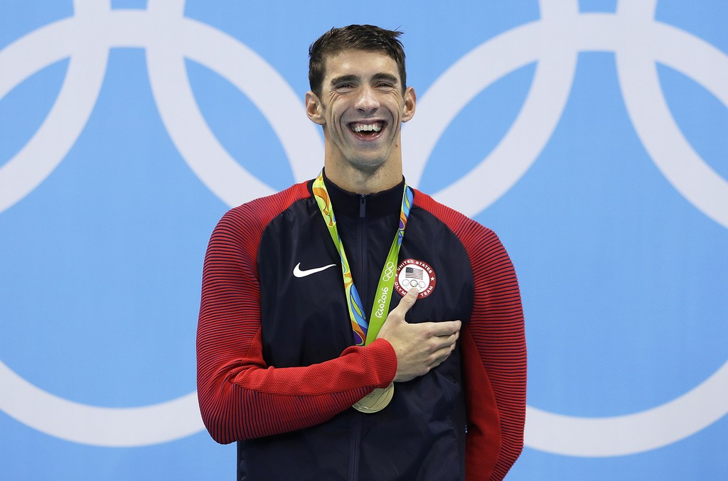 Michael Phelps at the 2016 Olympics
