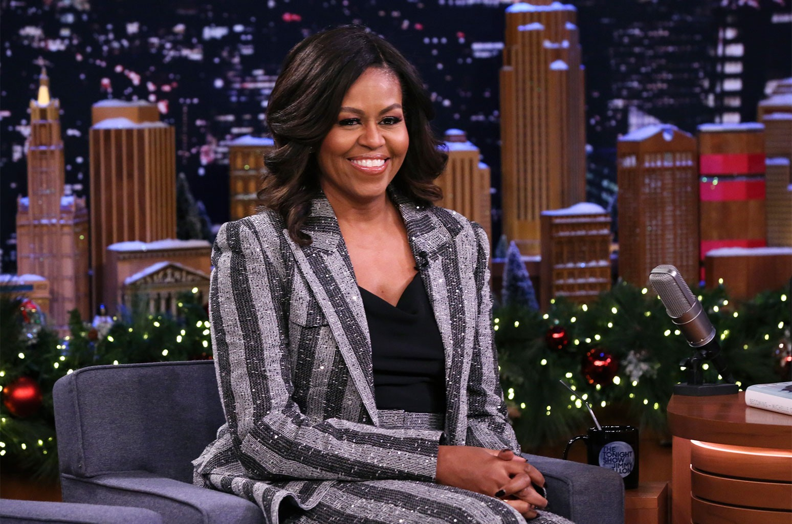 Michelle Obama Shares 2020 Workout Playlist Featuring Lizzo Cardi B More Listen Billboard