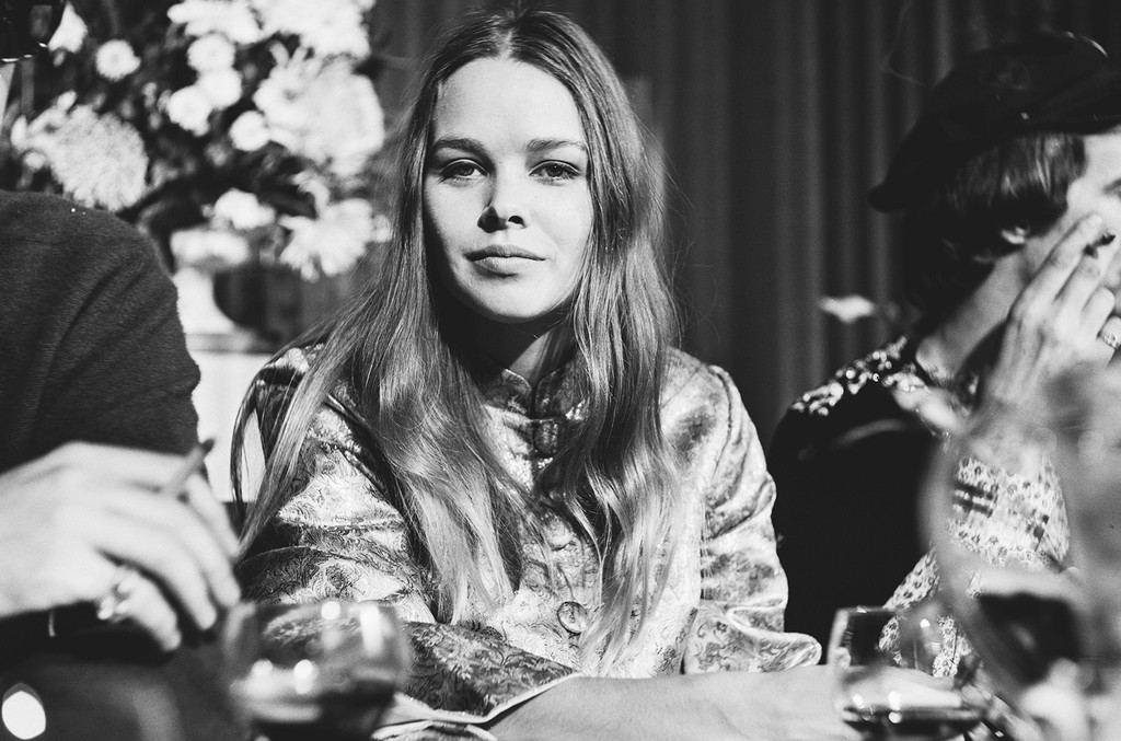 Michelle Phillips photographed on Oct. 5, 1967.