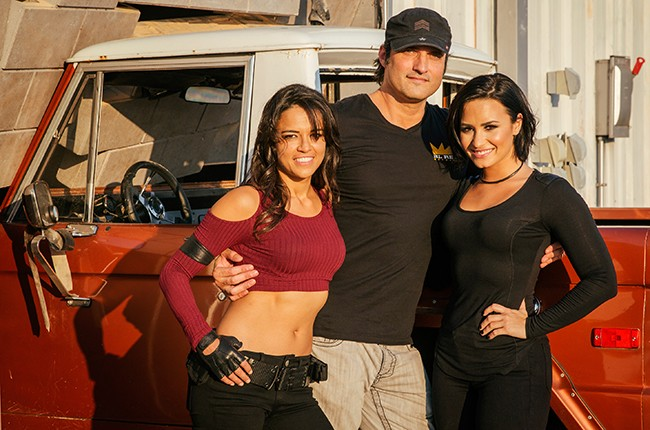 Michelle Rodriguez, Robert Rodriguez, Demi Lovato