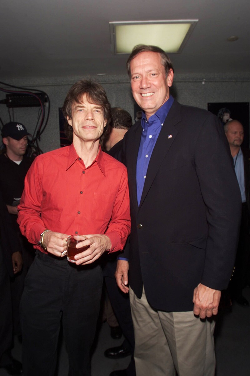 Mick Jagger & George Pataki