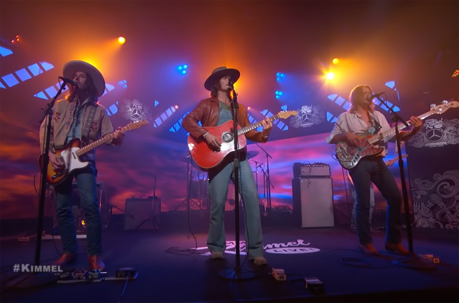 """Midland performs """"Burn Out"""" on Jimmy Kimmel Live!"""