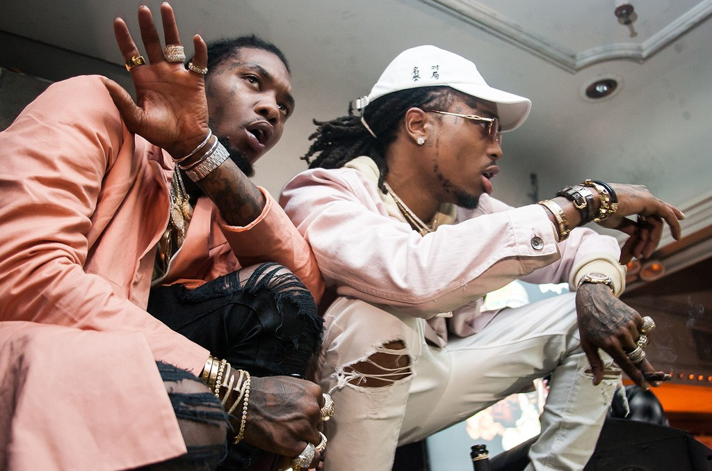 Migos performs at Up&Down on Jan. 26, 2017.