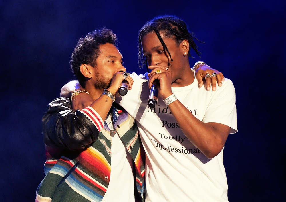 Miguel and A$AP Rocky