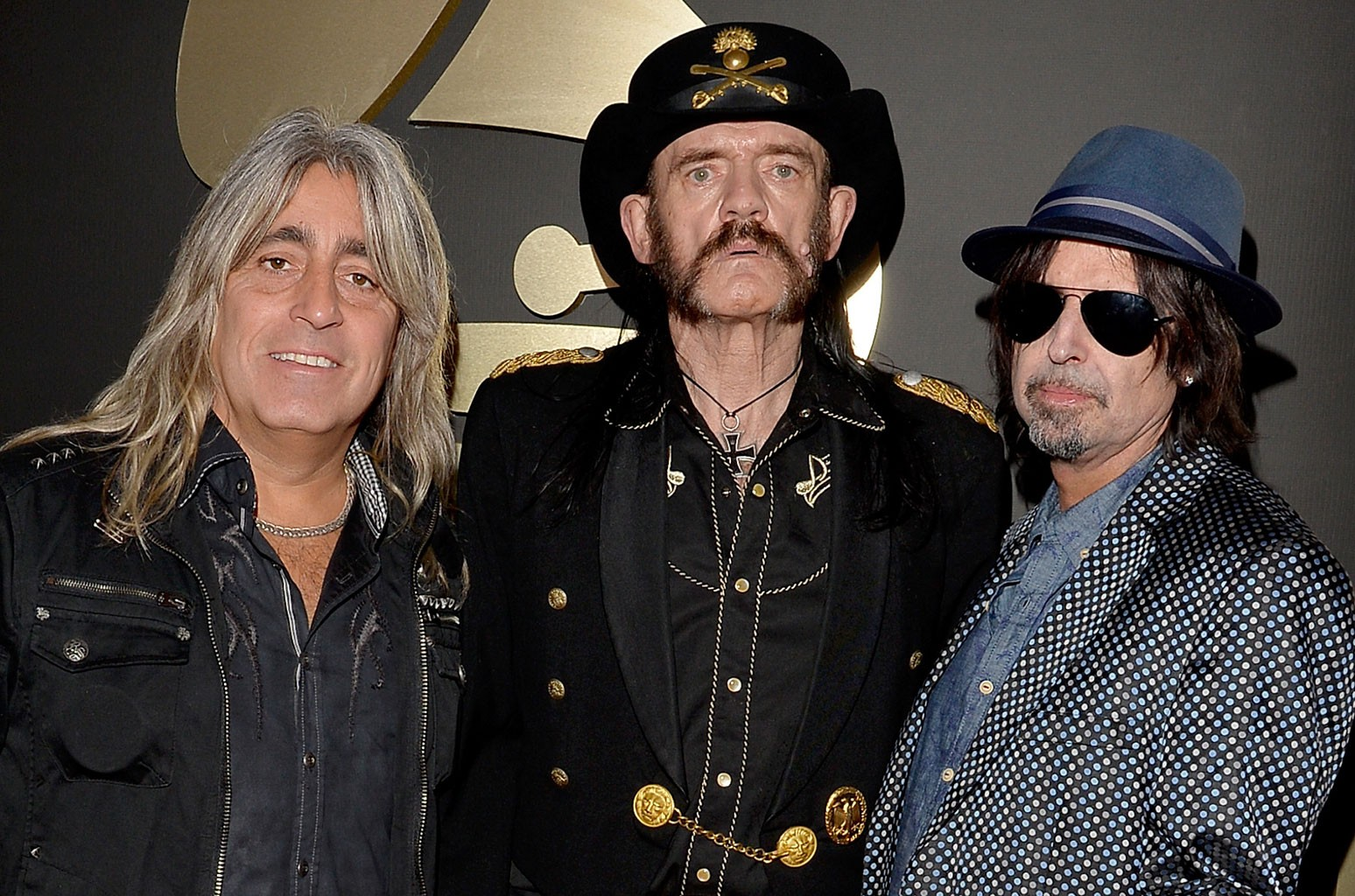 Mikkey Dee, Ian Fraser Kilmister and Phil Campbell of Motorhead