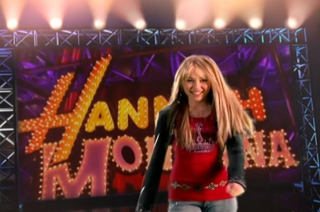 MIley Cyrus; Hannah Montana
