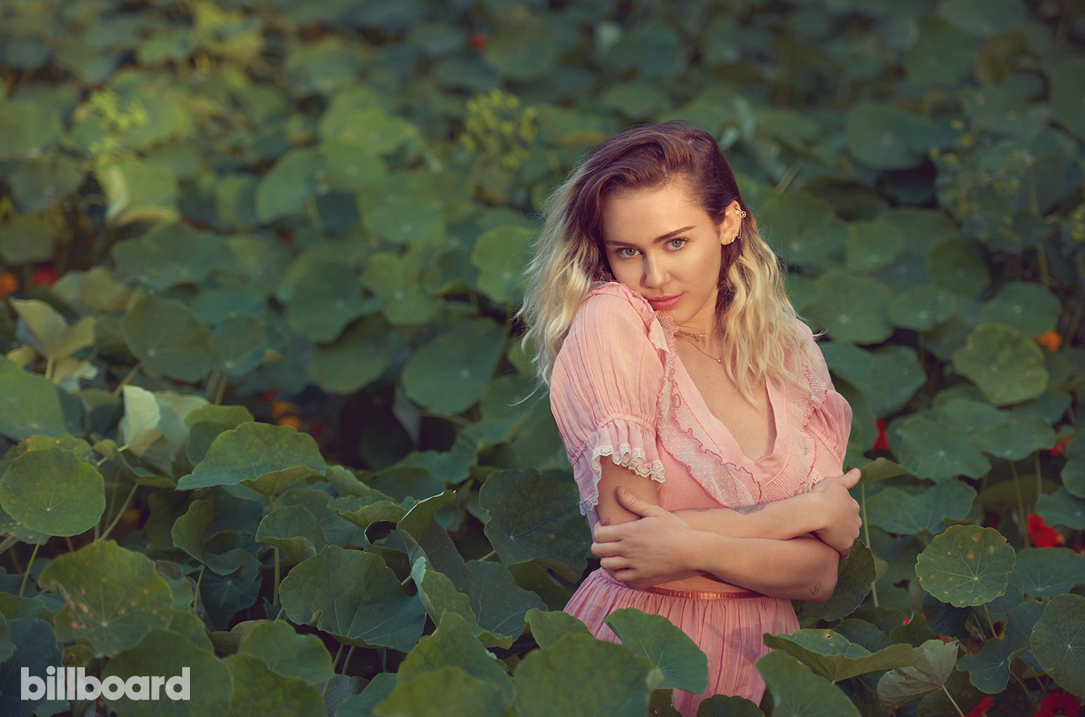 Miley Cyrus photographed April 8, 2017 in Malibu.