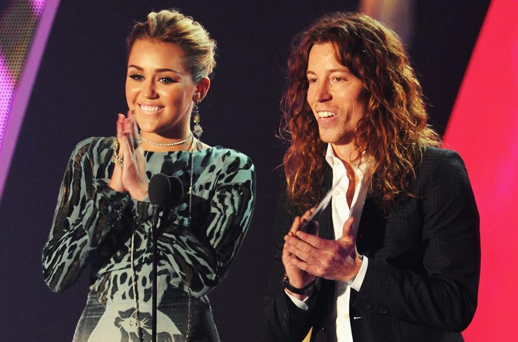 Miley Cyrus and Shaun White