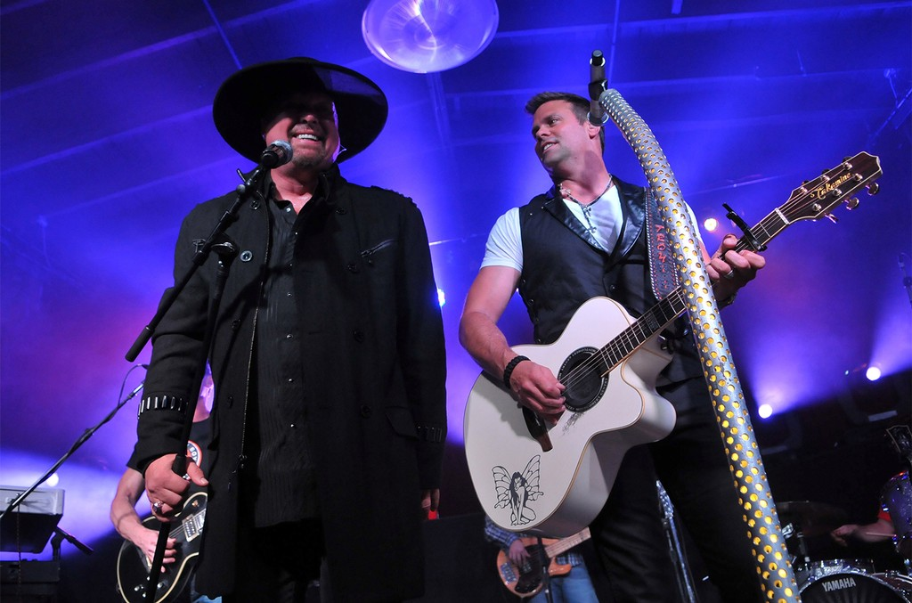 Eddie Montgomery and Troy Gentry of Montgomery Gentry