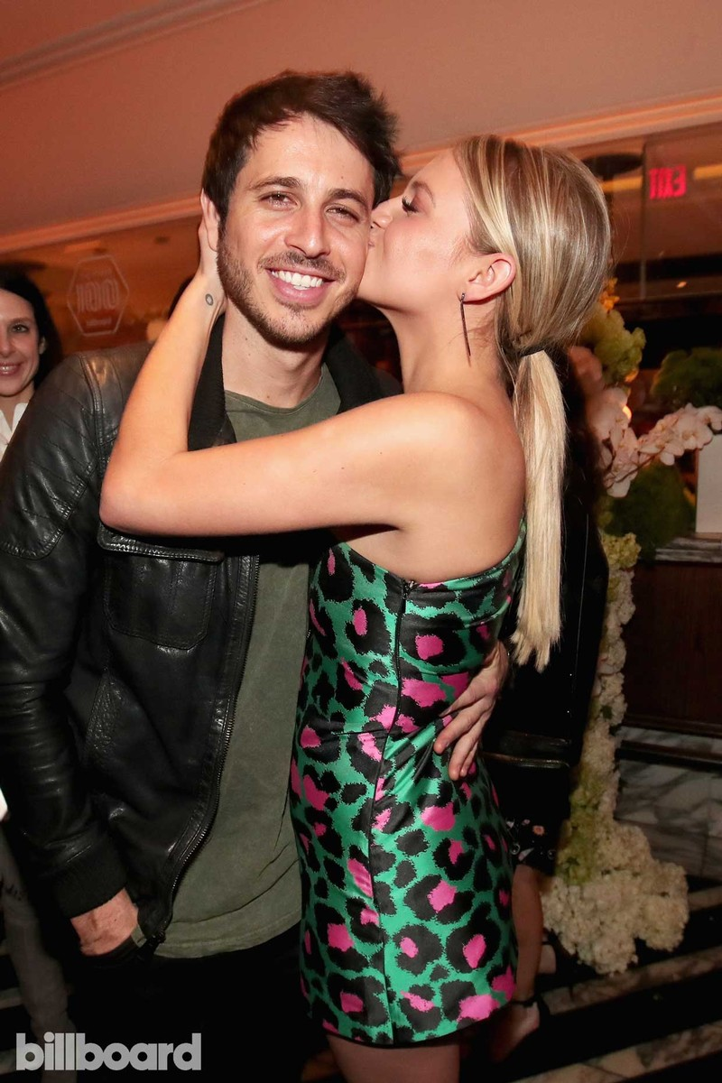 Morgan Evans and Kelsea Ballerini attend 2017 Billboard Power 100 - Inside at Cecconi's on Feb. 9, 2017 in West Hollywood, Calif.