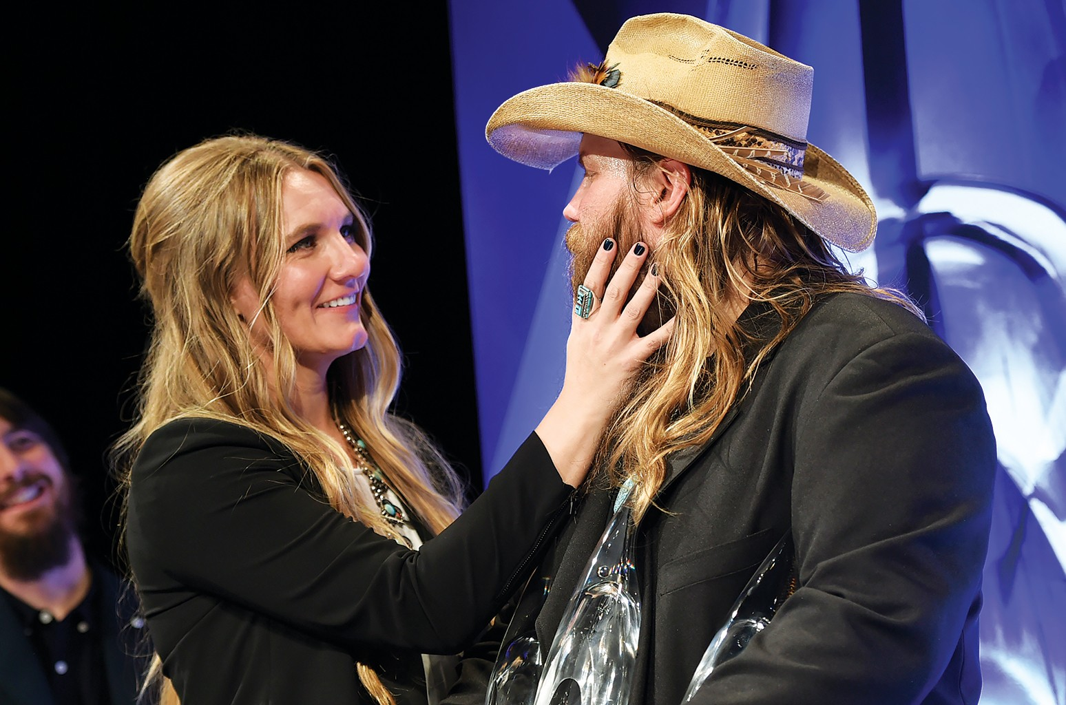 Morgane Stapleton and Chris Stapleton CMA 2015