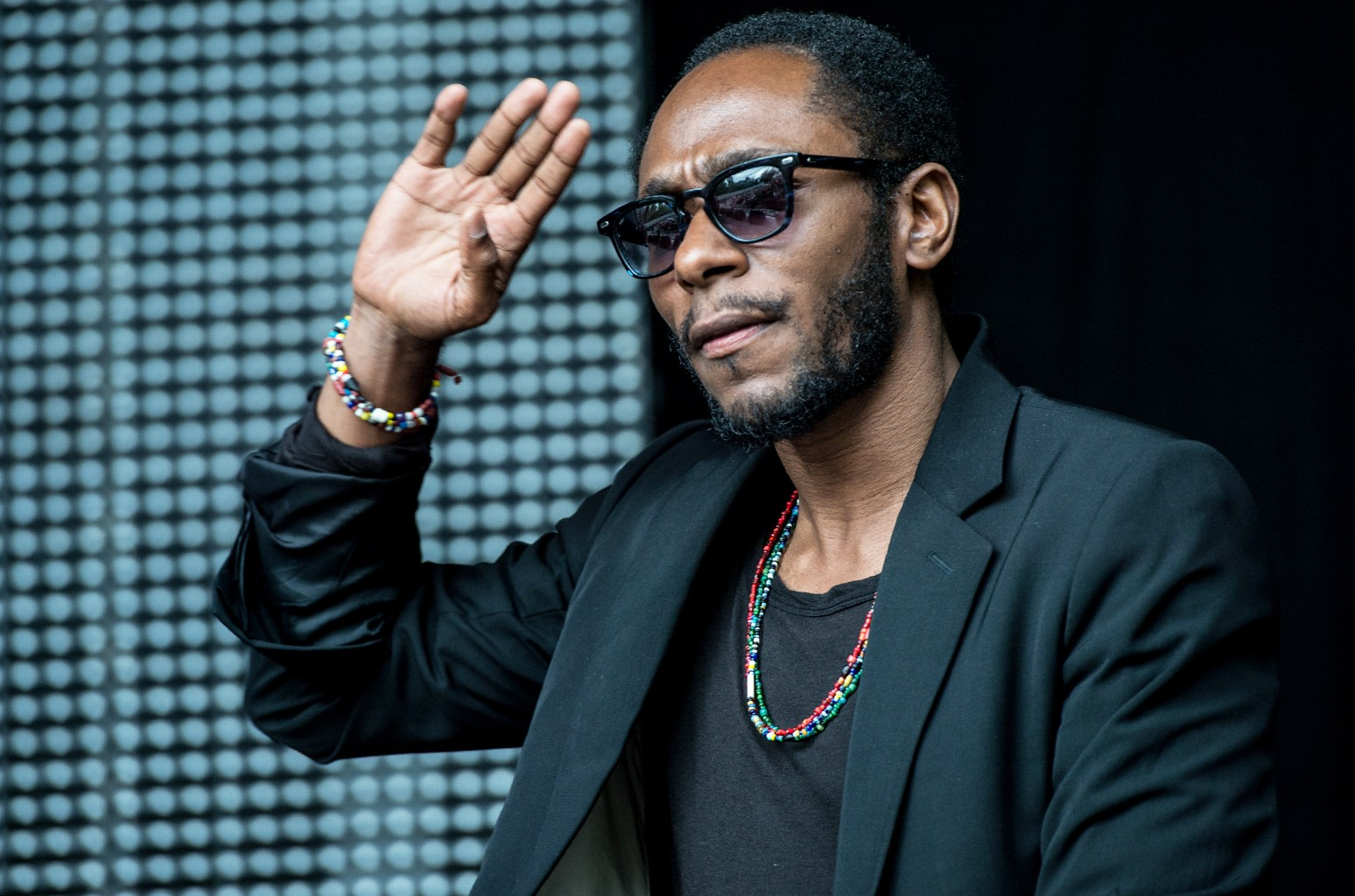Mos Def Performs onstage during a Black Star set on day 1 of Wireless Festival 2015 at Finsbury Park on June 28, 2015 in London.