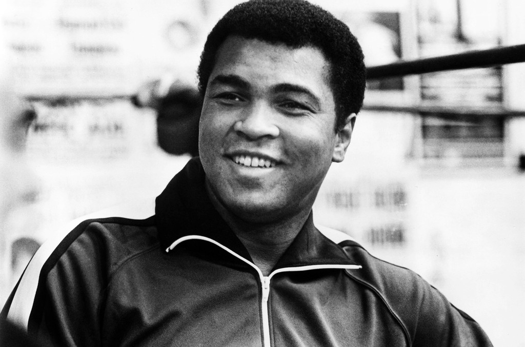 Muhammad Ali photographed in 1981.