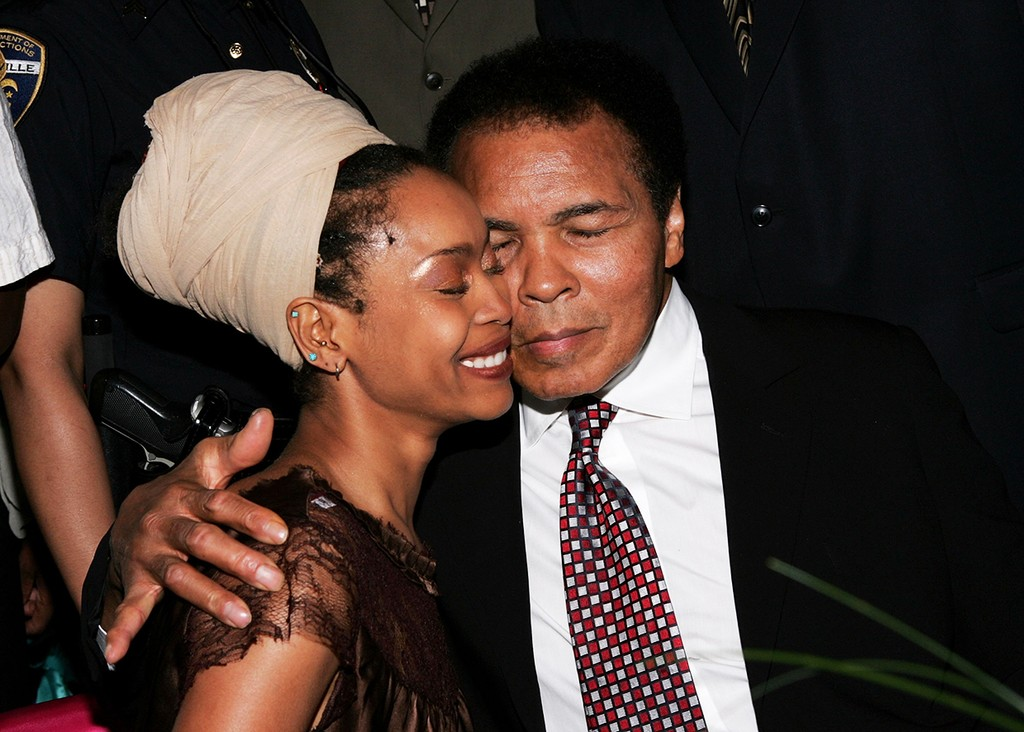 Erykah Badu and Muhammad Ali