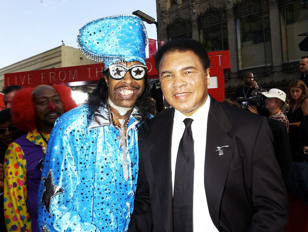 Bootsy Collins and Muhammad Ali