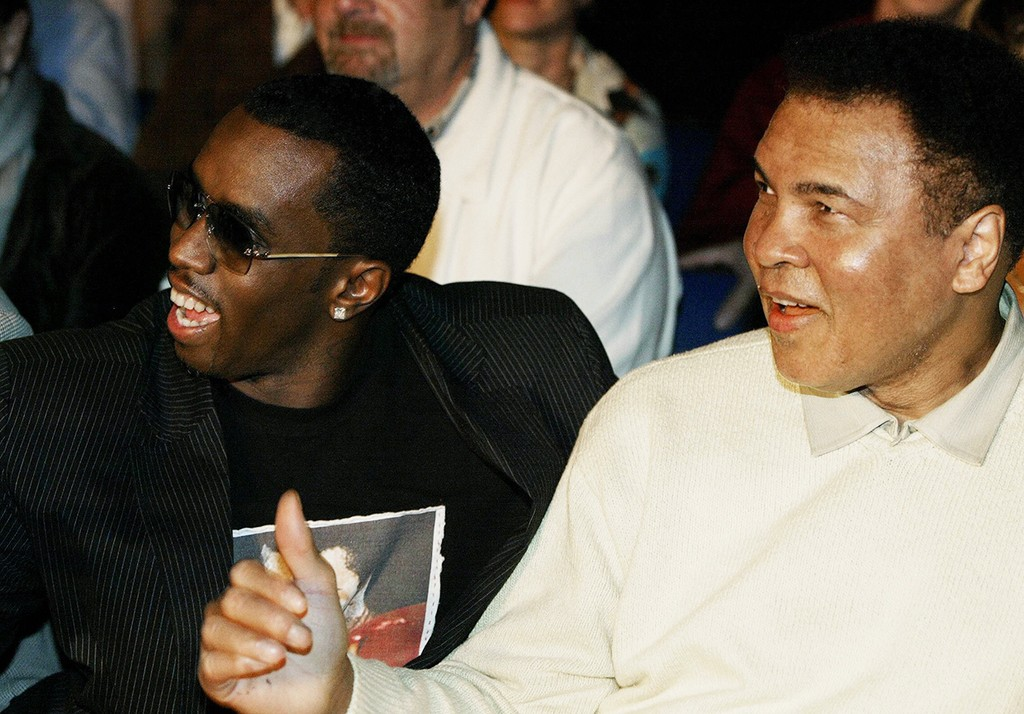 Muhammad Ali and P. Diddy