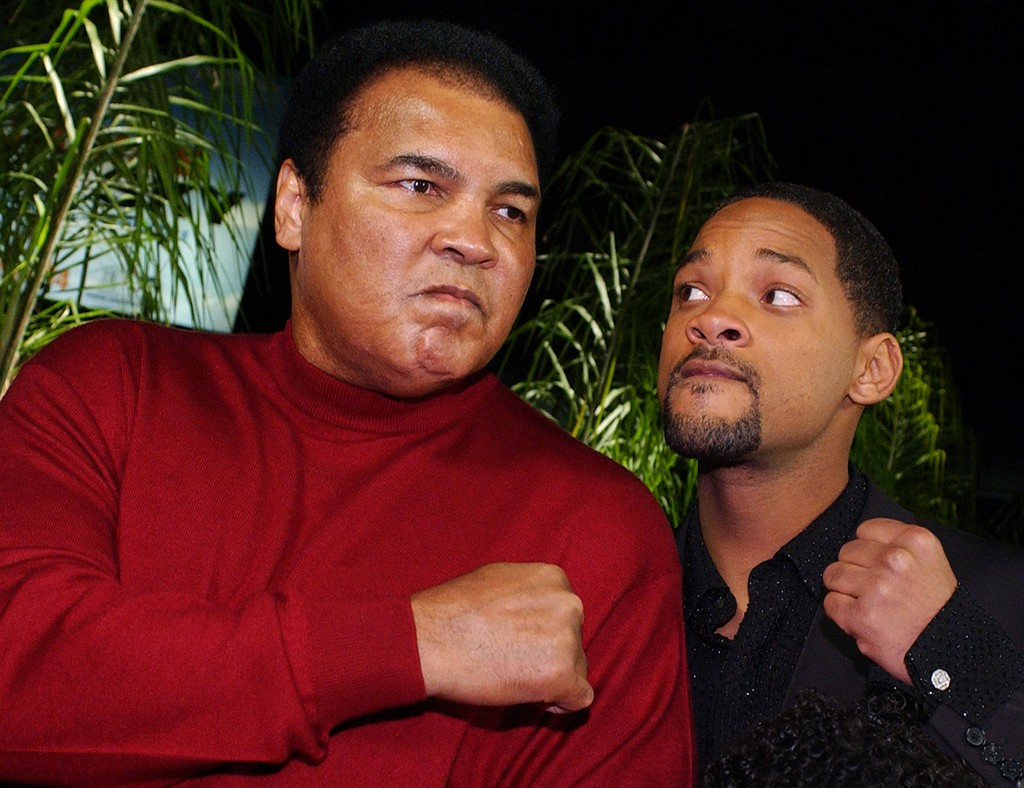 Muhammad Ali and Will Smith