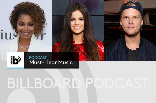Janet Jackson; Selena Gomez; Avicii