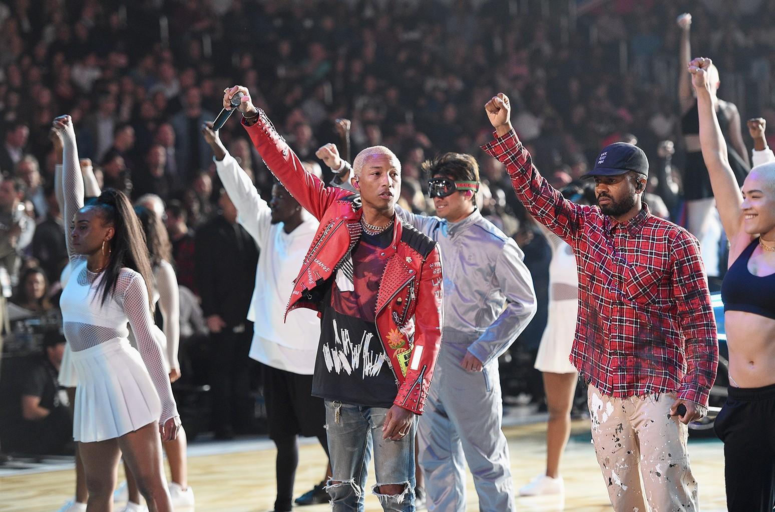 Pharrell Williams of N.E.R.D.