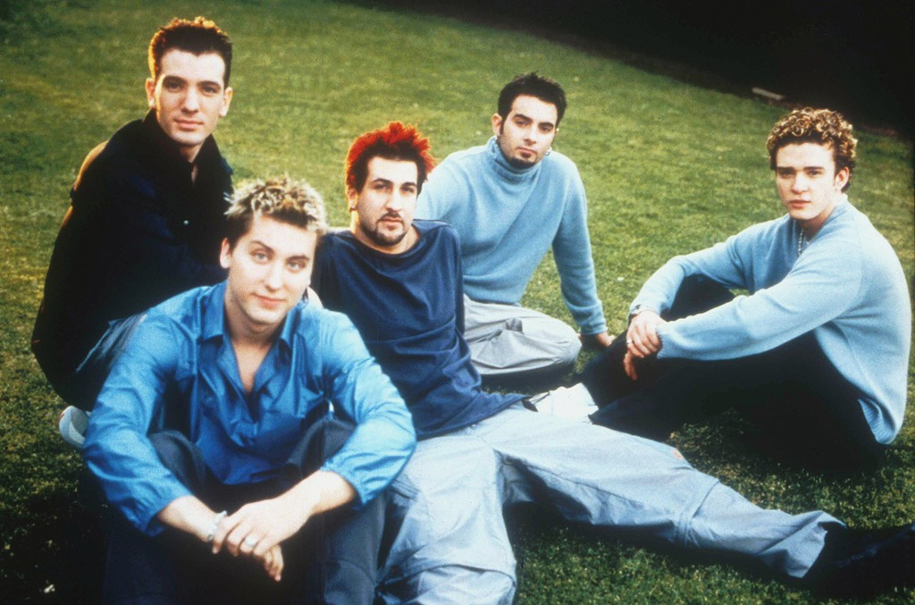 *NSYNC photographed in 2001.