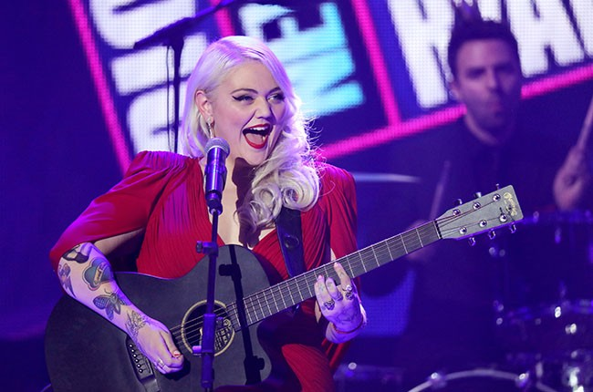Elle King performs at Dick Clark's New Year's Rockin' Eve